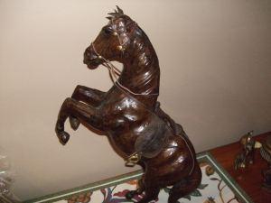 Jim's rehearsal dinner-Horse